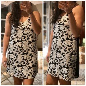 NWOT Forever 21 Sequin Paisley Shift Dress